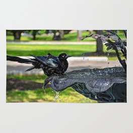 Common Grackle Bath Rug