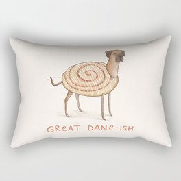 Great Dane-ish Rectangular Pillow