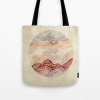 sunrise Tote Bags featuring Sunrise by rskinner1122