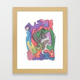 Drawing #74 Framed Art Print
