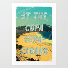 At the Copa Copacabana #1 – A Hell Songbook Edition Art Print