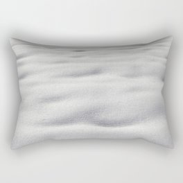 Texture #9 Snow Rectangular Pillow