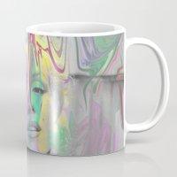 monroe Mugs featuring Monroe by Cale potts Art