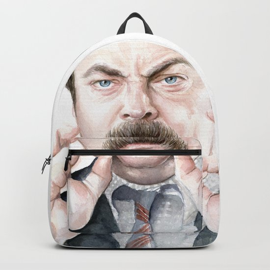 Swanson Mustache Backpack