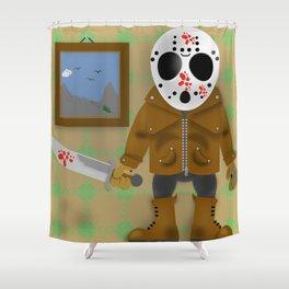 Little Monster Jason Shower Curtain