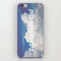 Dare to feel thrilled iPhone & iPod Skin