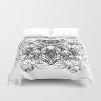 koala Duvet Covers featuring KOALA by Oscelius