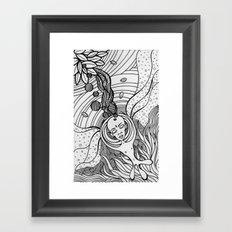 Cosmic Elevation Framed Art Print