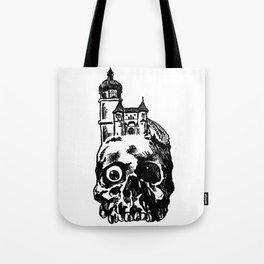 Skull Manor Tote Bag