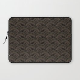 stormy seas abstract Celtic pattern Laptop Sleeve