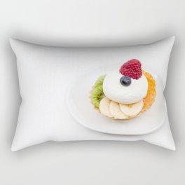 tart from fruit Rectangular Pillow
