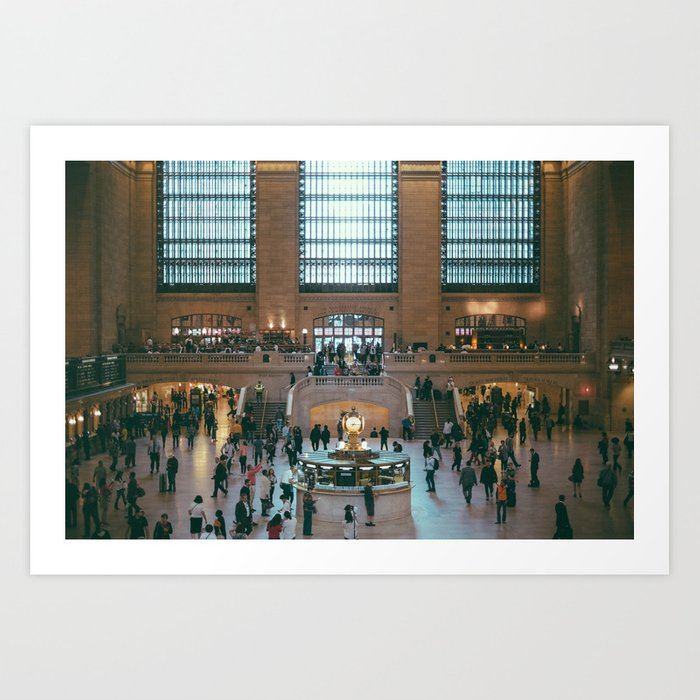 The Amazing Grand Central Station II Art Print