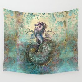 The Seahorse Diary Wall Tapestry