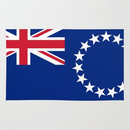 Cook Islands Flag Rug