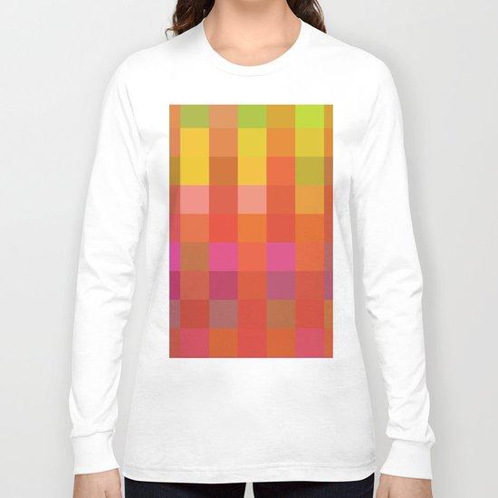 Quadros 01 Long Sleeve T-shirt