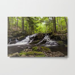 split waterfall Metal Print