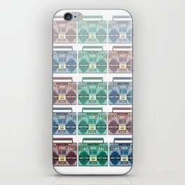 """I CAN'T LIVE WITHOUT MY RADIO"" iPhone Skin"