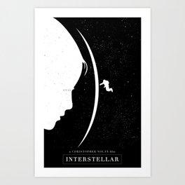 Interstellar Movie Poster Art Print