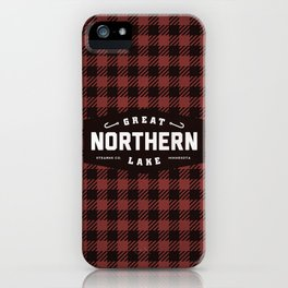 Great Northern Lake iPhone Case