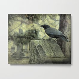 Waiting For The Bookworm  Metal Print