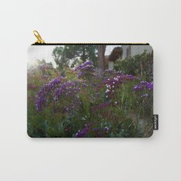 Flowers In The Light Carry-All Pouch