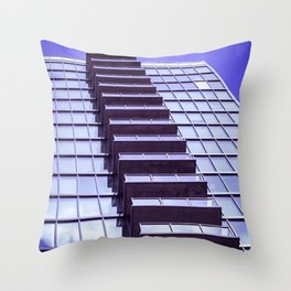 Squares and Rectangles Throw Pillow