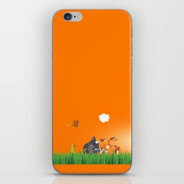 What's going on in the jungle? Kids collection iPhone Skin