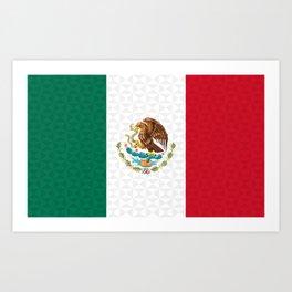 Bandera Mexico | Mexican Flag Art Print