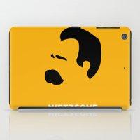 nietzsche iPad Cases featuring NIETZSCHE by eve orea