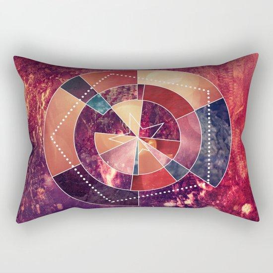 Geometric Rockstar Rectangular Pillow