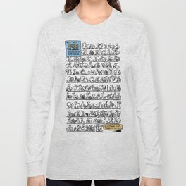 100 Squirrels... no meaning Long Sleeve T-shirt