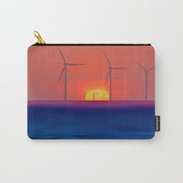 Windmills to the Sun Carry-All Pouch