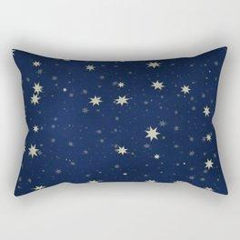 Starry Night Design  Rectangular Pillow