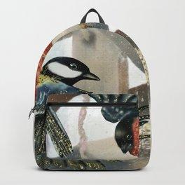 Magical Winter Birds Backpack