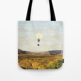 Birds Eye View Of Yellowstone Tote Bag