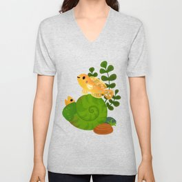 Shell Dwellers Unisex V-Neck