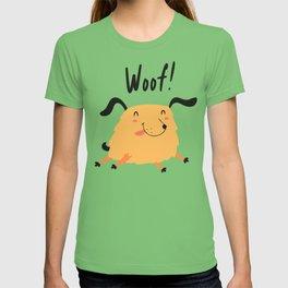 Orange puppy T-shirt