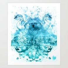 The Blizzard Art Print