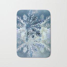 Winter Flakes Bath Mat