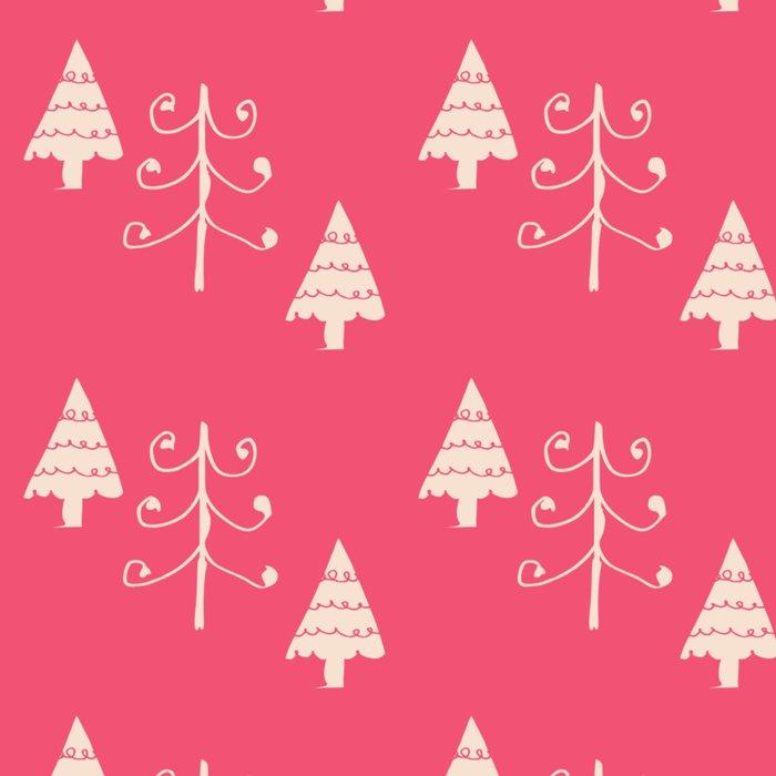Christmas tree pink Leggings