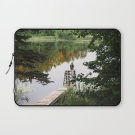 Camp Lake Laptop Sleeve
