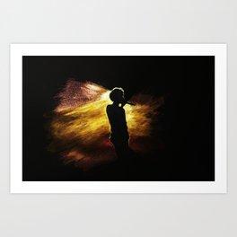 Golden Boy (Louis Tomlinson) Art Print