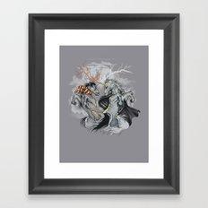Retold with Unicorns II Framed Art Print