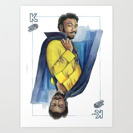 Childish Landino Art Print