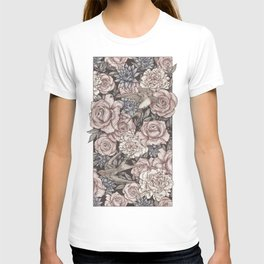 Flowers & Swallows T-shirt