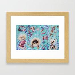 atlantean pups by Nefertara Framed Art Print