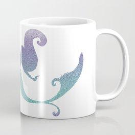 Turquoise and amethyst mermaid Coffee Mug