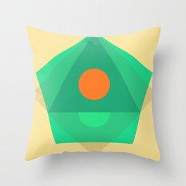 Soft Pastel Throw Pillow
