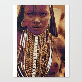 Menhit Canvas Print