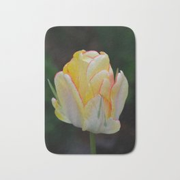 Red-Tipped Tulip by Teresa Thompson Bath Mat